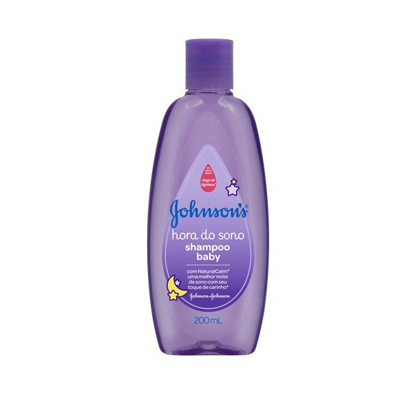 Shampoo infantil Johnson'S Baby hora do sono com 200ml