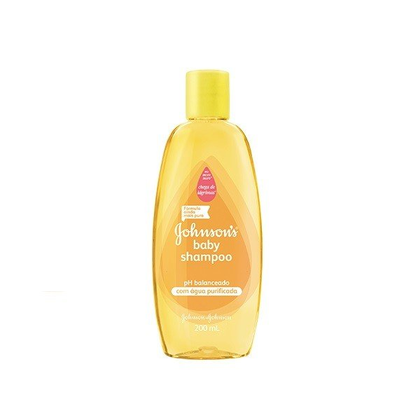 Shampoo infantil Johnson'S Baby com 200ml