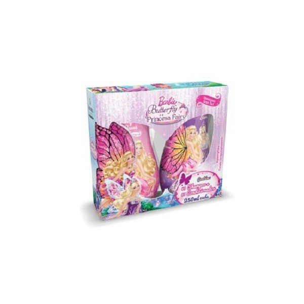 Kit Biotropic Barbie Butterfly Shampoo e Condicionador