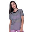 Blusa T-Shirt Gray Tulle