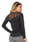 Blusa Black Transparency
