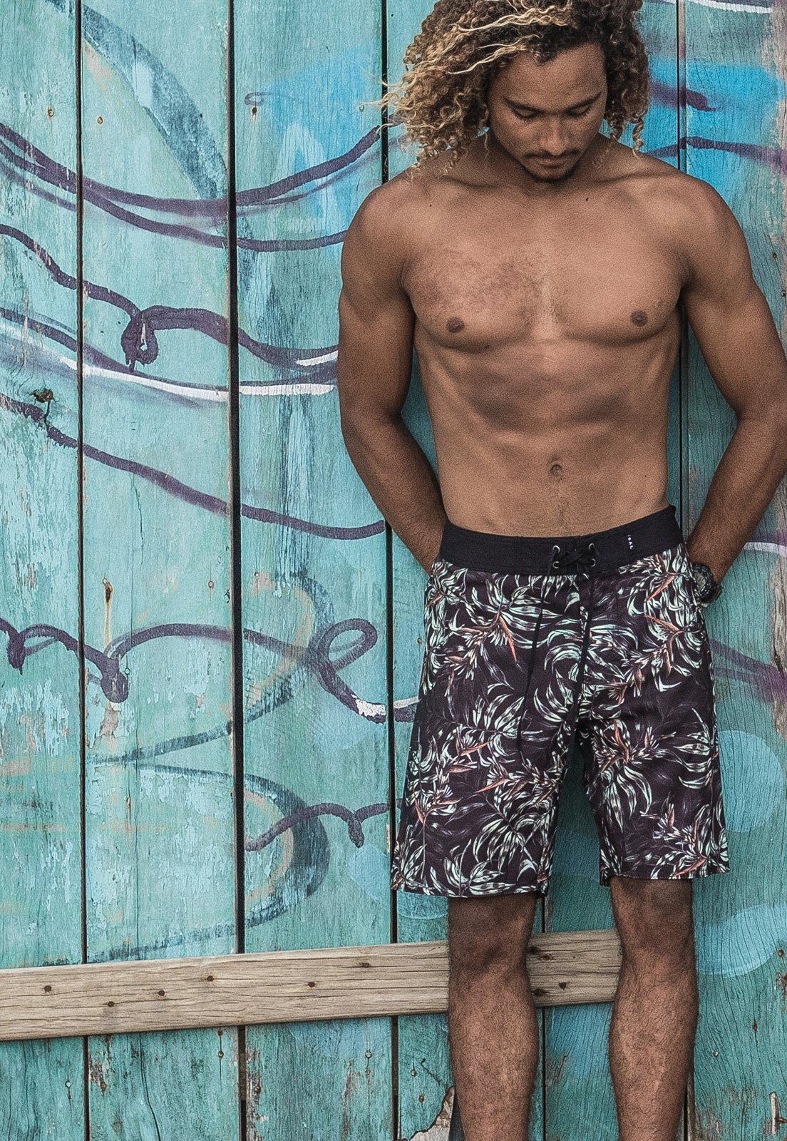 Boardshort Sal Tropical Habitat