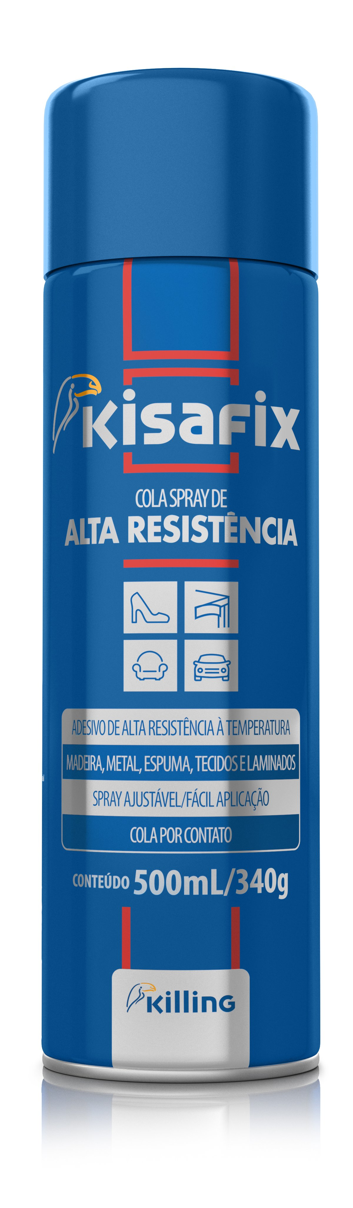 COLA SPRAY 500ML KISAFIX