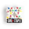 RODA GIRL SKATEBOARDS CLASSIC LOGO 53MM