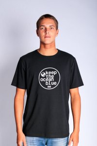 CAMISETA OCEANO LOGO KEEP MALHA RECICLE