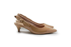 Scarpin Jennie Light Tan