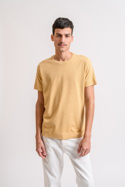 T-shirt Natural Amarela