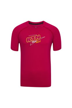 Camiseta Run the Night Cereja Masc