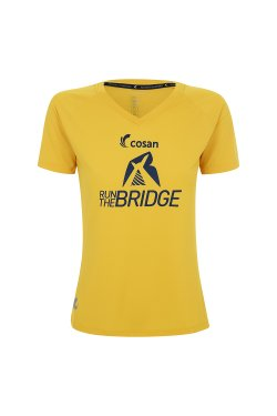 Camiseta Run The Bridge 2019 Fem Amarela