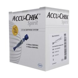 Cartucho Accu Chek Spirit 3.15ml c/5