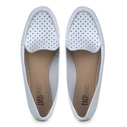 Mocassim Tag Shoes PVC Colors Branco