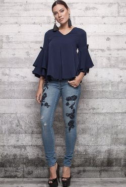 Blusa Romantic Blue