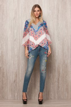 Blusa Beautiful Flowers