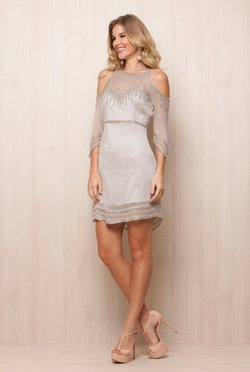 Vestido Silver Light