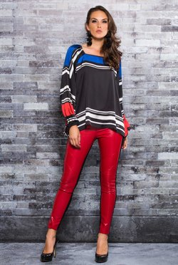 Blusa Colors Stripes