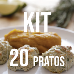 KIT 20 PRATOS