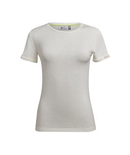 T-SHIRT GOLA CARECA LINHO - OFF WHITE FRESH START