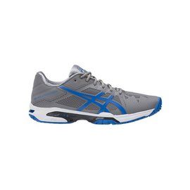 Tênis Asics Gel-Solution Speed 3 Aluminio/Azul/Branco