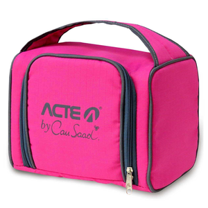 Lancheira Térmica Lunch Box Acte Sports Rosa by Cau Saad 7,45 Litros