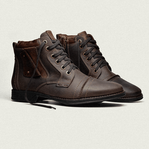 Bota Dress Masculina York 33 Crazy Café