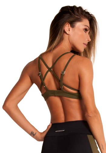 Top Military Green Supplex