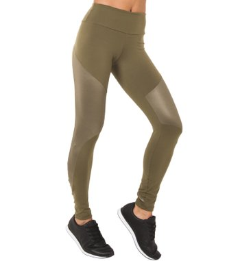 Legging Move Green Sand Supplex
