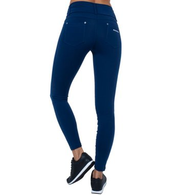 Legging Jeans Navy Blue Supplex