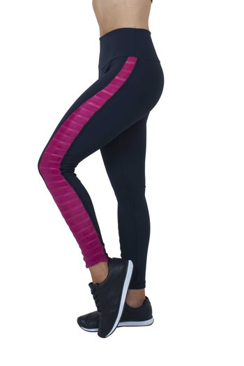 Legging Energy Black and Pink Supplex