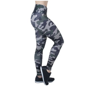 Legging Military Green Stamp