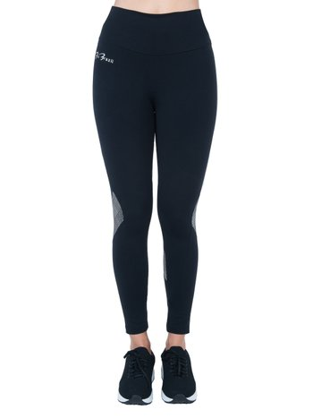 Legging Shine Black Supplex