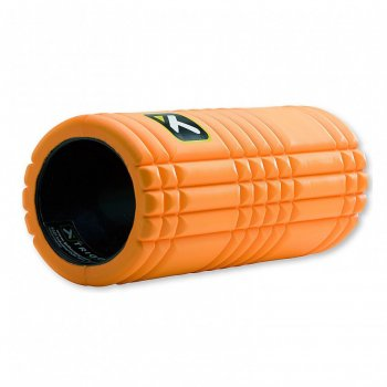 Rolo de Massagem Grid® 1.0 Foam Roller Laranja Trigger Point