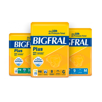 Fralda Big Fral Plus