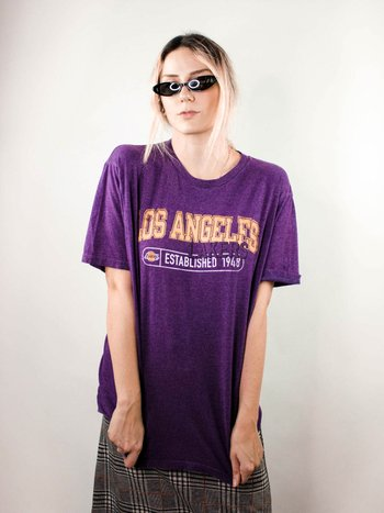 T-Shirt Vintage Lakers