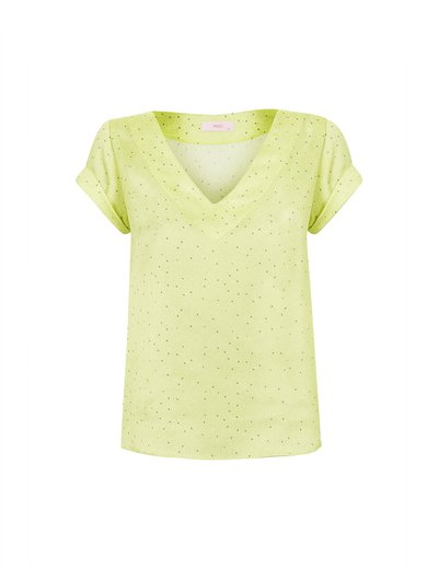 Blusa Double Estampada Limonada Ver20
