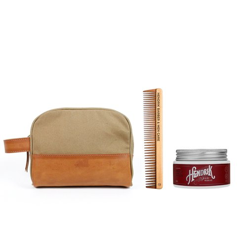 Kit Necessaire Delf + Pomada Regular + Pente