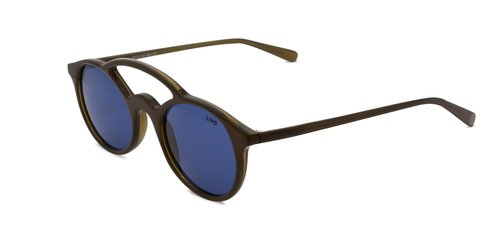 Delfim Solar Chocolate Azul Total | Delfim Chocolat w/ Blue Lenses