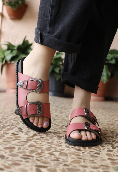 BIRKEN west - rosa (vegan)