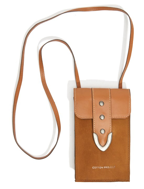 Collar Bag Country Caramelo