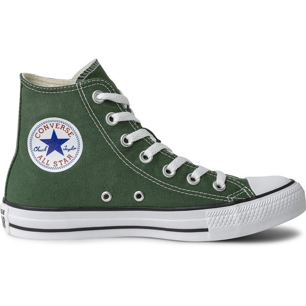 TÊNIS CONVERSE HIGH CT ALL STAR SEASONAL FLORESTA VERDE