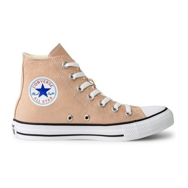 TÊNIS CONVERSE ALTO CT ALL STAR SEASONAL CREME BEGE