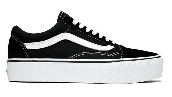 TÊNIS VANS OLD SKOOL UA PLATFORM BLACK/WHITE