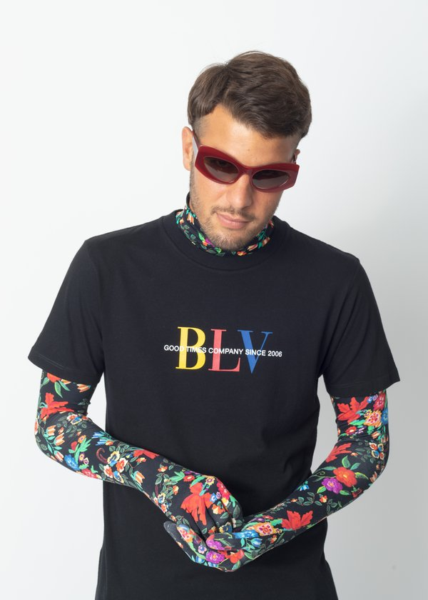 CAMISETA BOLOVO BLV COLORS PRETO