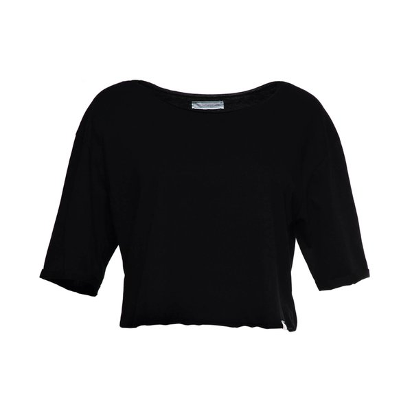 CROPPED REAL BLACK
