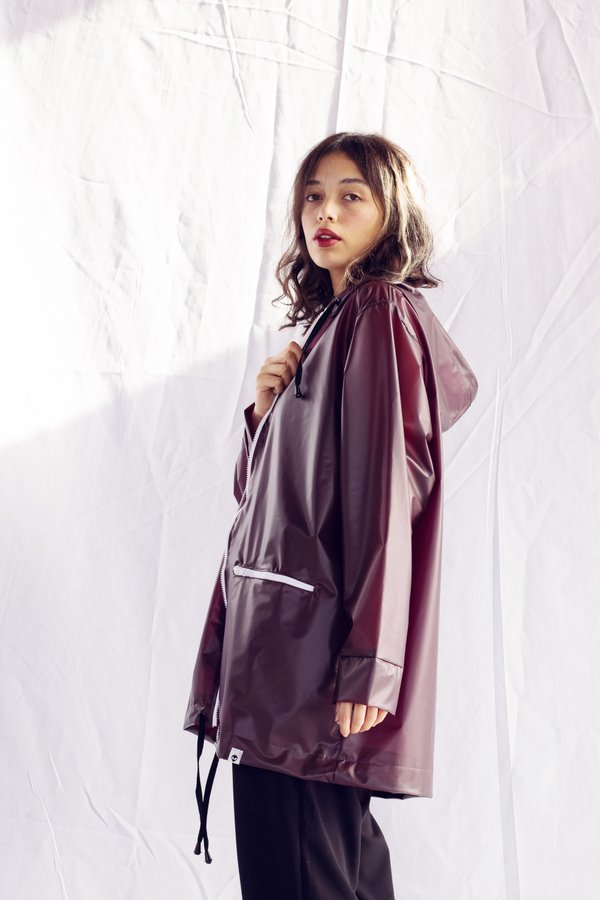 Raincoat Ed. #21 - Translucent Bordeaux