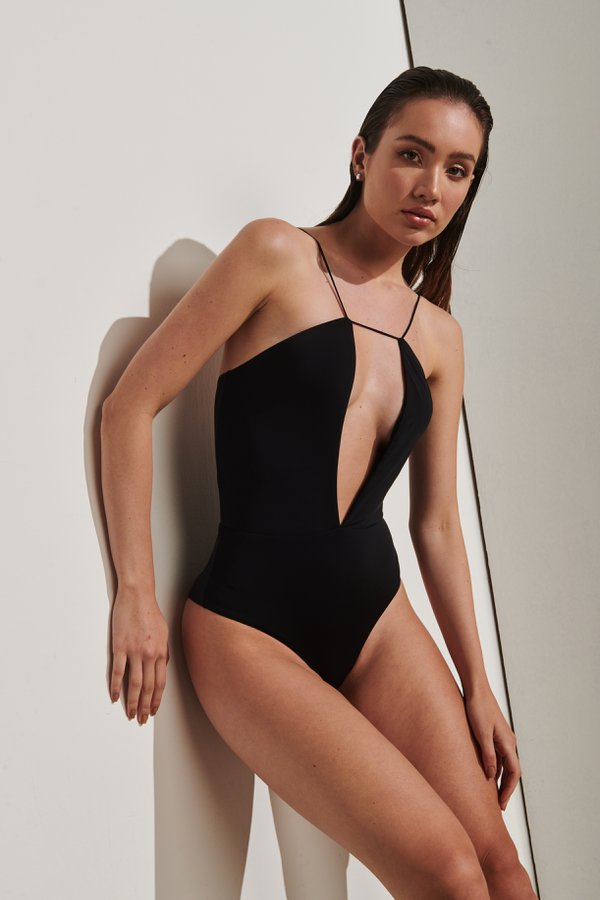 Foto do produto Body Formentera Preto | Formentera One-Piece Black
