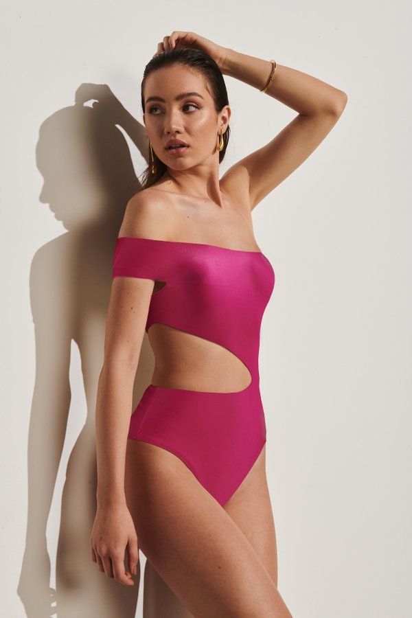 Foto do produto Body Bali Magenta | Bali One-Piece Magenta