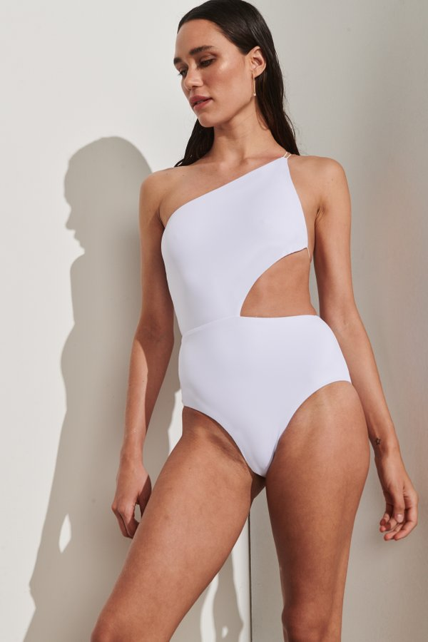 Foto do produto Body El Nido Branco | El Nido One-Piece White