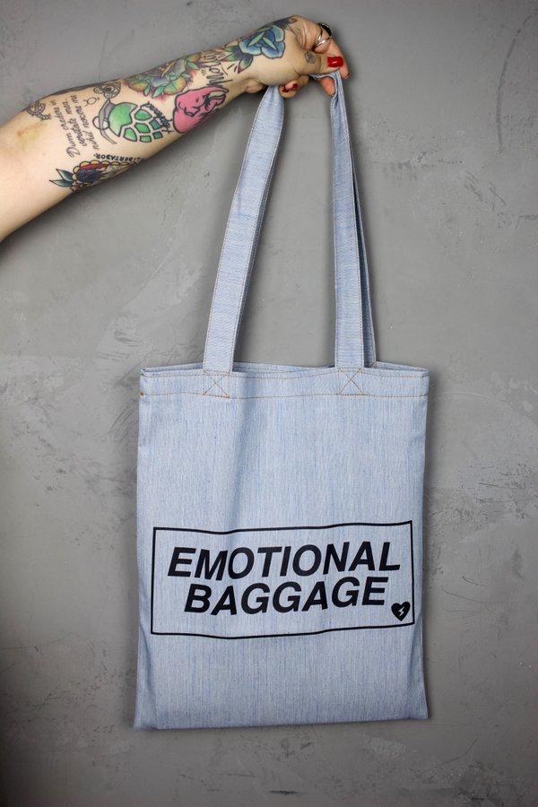 Foto do produto BOLSA EMOTIONAL JEANS LIGHT