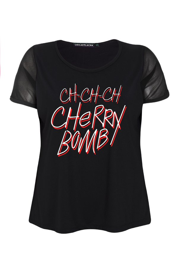 Foto do produto T-SHIRT CHERRY BOMB