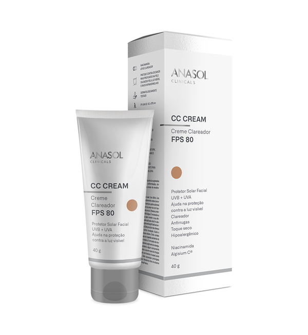 CC Cream Facial Anasol FPS 80